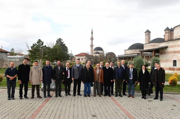 Rektör Çomaklı, Sücaaddin Veli Kültür ve Turizm Derneğini ziyaret etti
