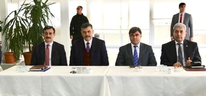 İl güvenlik, asayiş ve koordinasyon toplantısı Sungurlu'da yapıldı