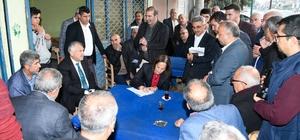 Karalar, vatandaşın sorunlarını dinledi Adana Büyükşehir Belediye Başkanı Zeydan Karalar, Solaklı ve Yunusoğlu'nda muhtarlar ve halkla buluştu projeleri anlattı
