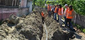 5 kırsal mahallenin içme suyu sorunu çözüldü