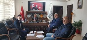 Karacasu Engelliler Derneği'nden Kaymakam Soley'e ziyaret