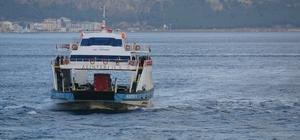 Bozcaada-Geyikli feribot hattında bazı seferler iptal edildi