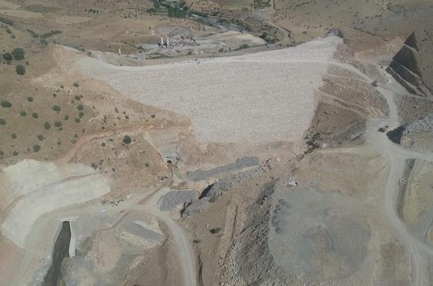 Çermikkale Barajı 139 bin 420 dekar tarım alanını sulayacak
