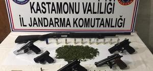 Jandarmanın uyuşturucu operasyonunda 5 kişi tutuklandı