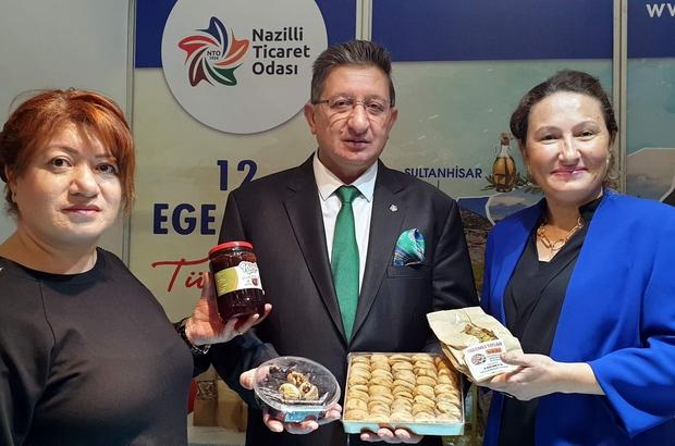 Nazilli Ticaret Odası incir cipsi ve kozalak reçelini Ankara'da tanıttı