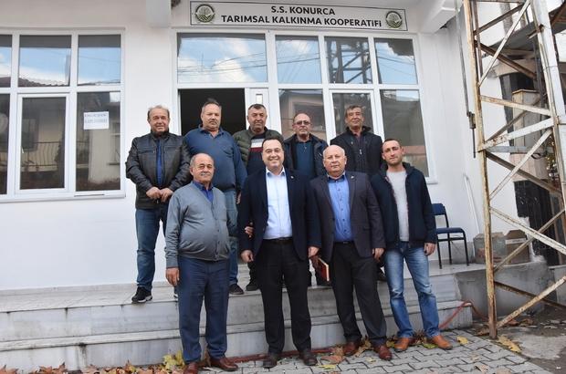 Akhisar Belediyesinden tarım kooperatiflerine tam destek Akhisarlı zeytinciler güç birliği yaptı