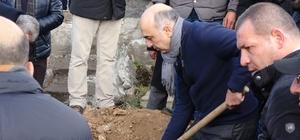 Bülent Kerimoğlu'nun babası Ardahan'da toprağa verildi