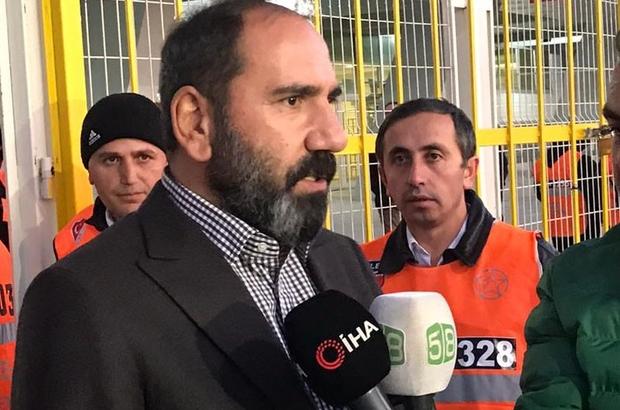 """Otyakmaz: """"Takımımı tebrik ediyorum"""" Sivasspor Kulübü Başkanı Mecnun Otyakmaz: """"13. haftayı da lider olarak bitirdik"""""""