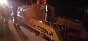Rahatsızlanan balıkçının yardımına Sahil Güvenlik ekipleri yetişti