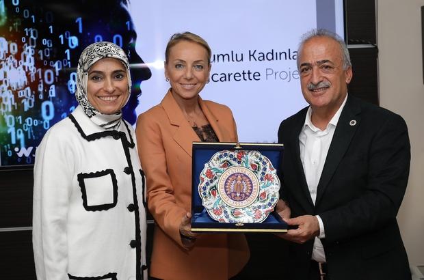 Atatürk Üniversitesinde, Erzurumlu Kadınlar E-Ticaret Projesi Görüşüldü ile ilgili görsel sonucu