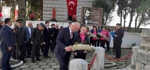 Namık Kemal mezarı başında anıldı