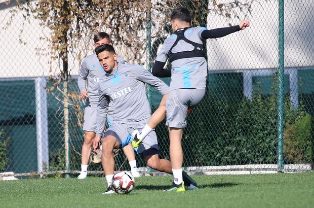 Trabzonspor, Altay maçı hazırlıklarını tamamladı