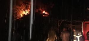 Giresun'da çıkan yangınlar korkuttu