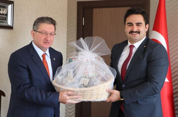 Nazilli Ticaret Odası'ndan Buharkent Kaymakamı Ülkü'ye ziyaret