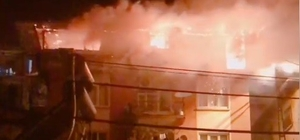 Bilecik'te korkutan yangın Çıkmaz sokakta bulunan apartmanda büyük panik yaşandı