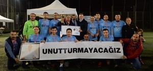 Yeşil Çevre'nin futbol turnuvası sona erdi Finalde İbraş Kauçuk'u 6-1 yenen MYD Kimya, şampiyonluk kupasını kaldırdı