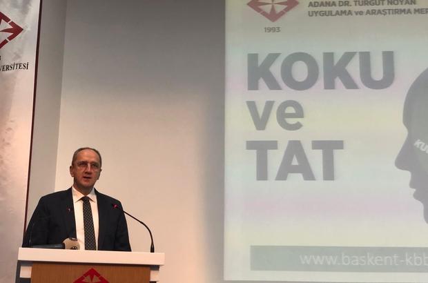 """Başkent Kulak Burun Boğaz Günleri Başkent Üniversitesi Adana Dr. Turgut Noyan Uygulama ve Araştırma Merkezi tarafından bu yıl 16'ıncısı gerçekleştirilen Başkent Kulak Burun Boğaz Günleri'nde, """"Koku ve Tat Bozuklukları"""" konusu ele alındı"""
