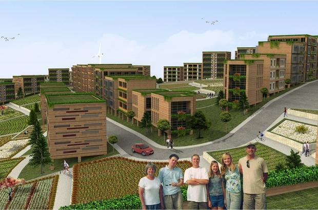 Gaziantep Ekolojik Kent projesi markalaştı Büyükşehir'in projesi dünyaya model olacak
