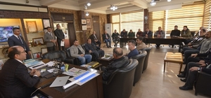 Sandıklı'daki sera işletmelerinin sorunları ele alındı