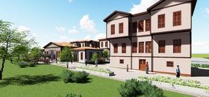 Ergene Atatürk Evi'nin temeli atılıyor
