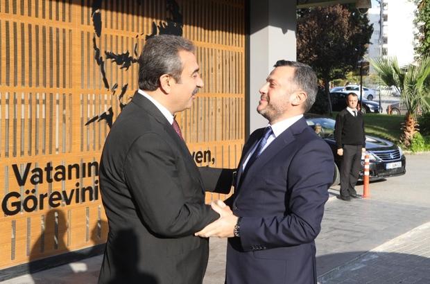 """Başkan Çetin: """"Yerel yönetimde uyumlu çalışma sergiliyoruz"""""""