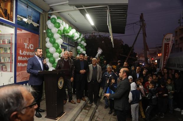 """Başkan Kocaispir: """"Doğalgaz Yüreğirli'nin de hakkı"""" Levent Mahallesi'nde 2 bin 400 konut doğalgazla buluşuyor"""