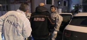 Kimya Bölümü öğrencisi siyanür içerek intihar etti AFAD ekipleri olay yerinde incelemesini sürdürüyor