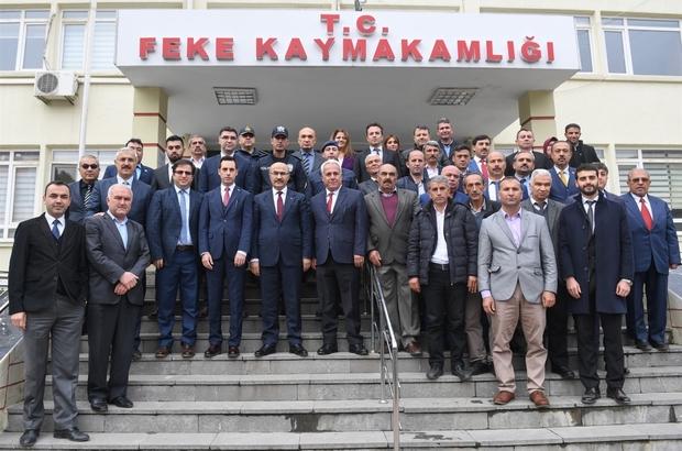 """Vali Demirtaş: """"Amacımız her açıdan gelişip kalkınmış bir Adana oluşturmak"""""""