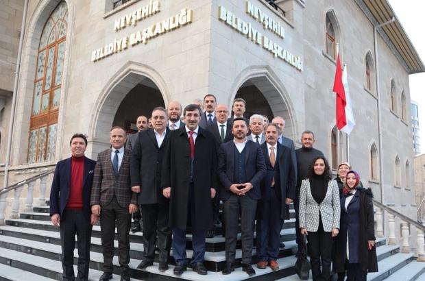 AK Parti Genel Başkan Yardımcısı Cevdet Yılmaz, Nevşehir Belediyesi'nde