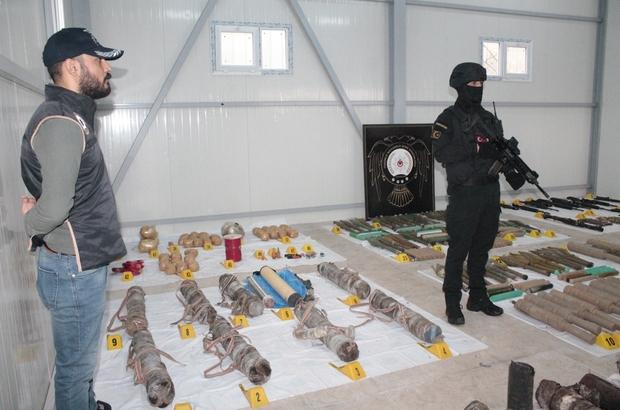 Diyarbakır'da PKK cephaneliği ele geçirildi