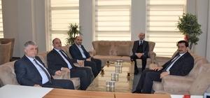 Başkan Kılıç, Genel Sekreter Mustafa Ak'ı ağırladı