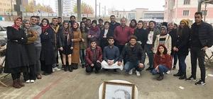HRÜ Halfeti'de Mehmetçik Vakfı için kermes düzenlendi