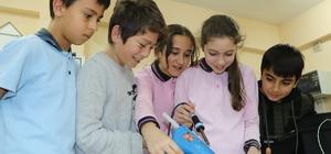 Bu okul 'proje fabrikası' gibi Geleceğin kaşifleri Samsun'da yetişiyor