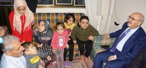 """Savaş mağduru Suriyeli engelli kardeşlere devlet sahip çıktı Baba Elsayel: """"Rabbim bu ülkeyi korusun"""""""