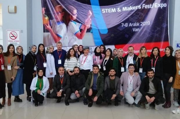 Van'da bilim ve teknoloji meraklıları bir araya geldi STEM & Makers Fest/Expo Van'a yoğun ilgi