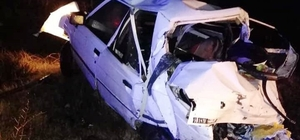 Afyonkarahisar'daki kazada yürek burkan detay