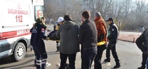 ATV aracı devrildi, sürücüsü yaralandı