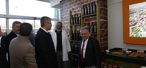 Başkanlardan esnaf ziyareti