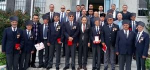 Datça'da 17 Kıbrıs gazisi onurlandırıldı