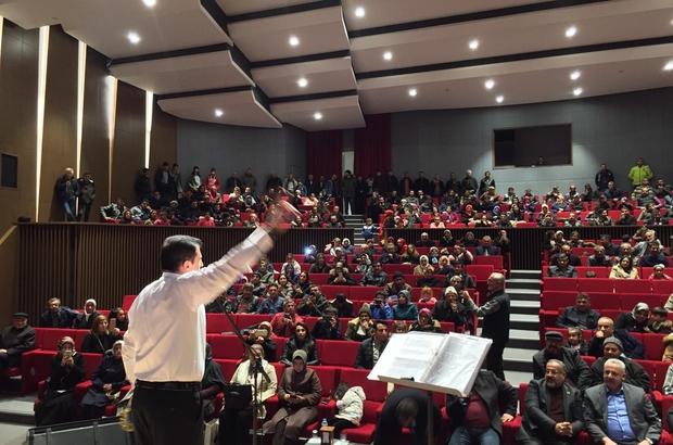 Arapgir'deki Halk Müziği Konseri ilgi gördü