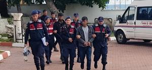 Trafo hırsızları jandarmadan kaçamadı Adana'da trafodan hırsızlık yapmak isterken kovalamaca sonucu yakalanan 3 kişi tutuklandı