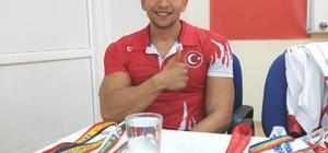 Dünya Şampiyonu Bilek Güreşçisi Fatih Kamuz Yavuzeli'nde