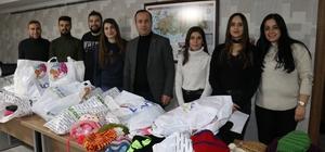 TÜRSAB'tan öğrencilere giyim yardımı