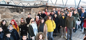 Rafadan Tayfa ekibi Göbeklitepe'de