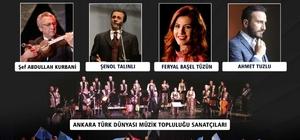Kırım-Kerkük-Karabağ Sanat ve Dostluk Şöleni