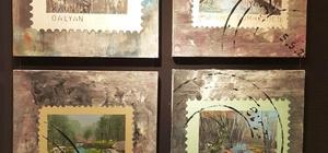 Posta pulu tabloları büyüledi