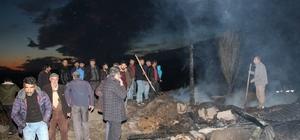 Özürlü çocuk evlerini yaktı