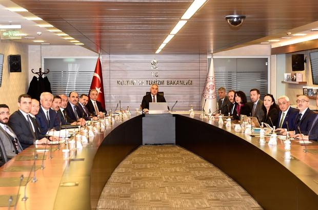 Kültür ve Turizm Bakanlığında, Konya projeleri konuşuldu