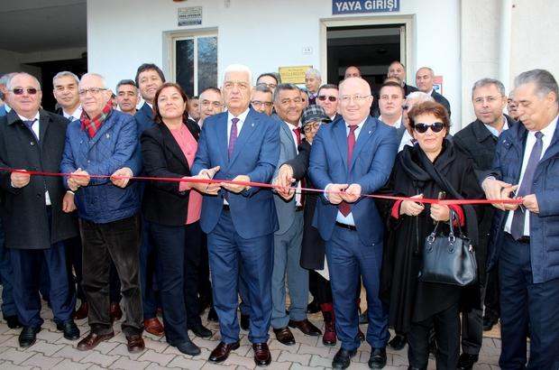 Muğla İli Muhtarlar Federasyonu ofisi törenle açıldı
