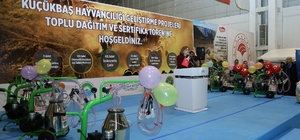 """Büyükşehir'den üreticilere destek Şahin: """"Çiftçiler bizim ana damarımızsınız"""""""